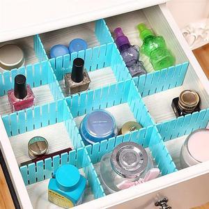4pcs/set Adjustable Drawer Clapboard Partition Divider Cabinet DIY Grid Storage Organizer For Underwear Socks Makeup