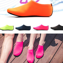 Slippers Socks Aqua Swim-Shoes Sneakers Seaside Summer Women for Zapatos Hombre Solid-Color