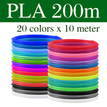 PLA ABS Filament For 3D Pen Print Plastic 10 20 Rolls 10M Diameter 1 75mm 200M