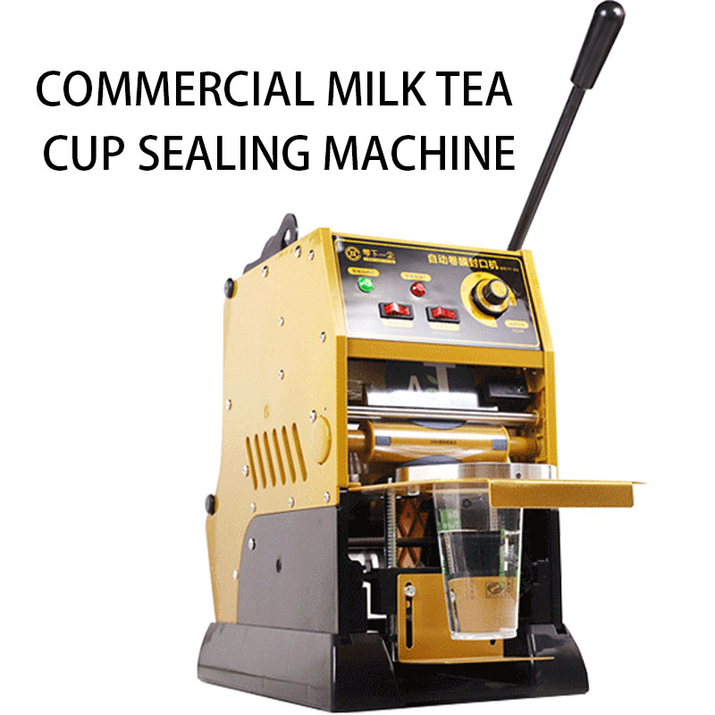 220V/315W Commercial beverage cup sealing machine milk tea equipment Household manual plastic paper cup sealing machine