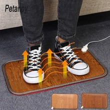 купить 50*30cm Electric Foot Feet Warmer Heated Floor Carpet Heating Mat Office Home Heating Pad Warm Feet Keep Warm Electric Blanket по цене 1214.76 рублей