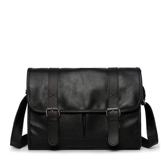 ファッション男の革ショルダーバッグバッグ旅行バッグ男性ブリーフケースブランドの高級メッセンジャーバッグ男性のラップトップビジネスクロスボディメンズバッグ