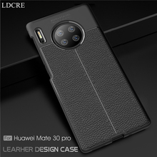 For Huawei  Mate 30 Pro Case Cover Silicone Shell Soft Bussiness Phone
