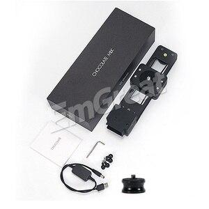 Image 5 - YC Zwiebel Schokolade Motorisierte Kamera Slider Aluminium Legierung Leichte, Tragbare für DSLR Spiegellose Kamera Bluetooth APP Control