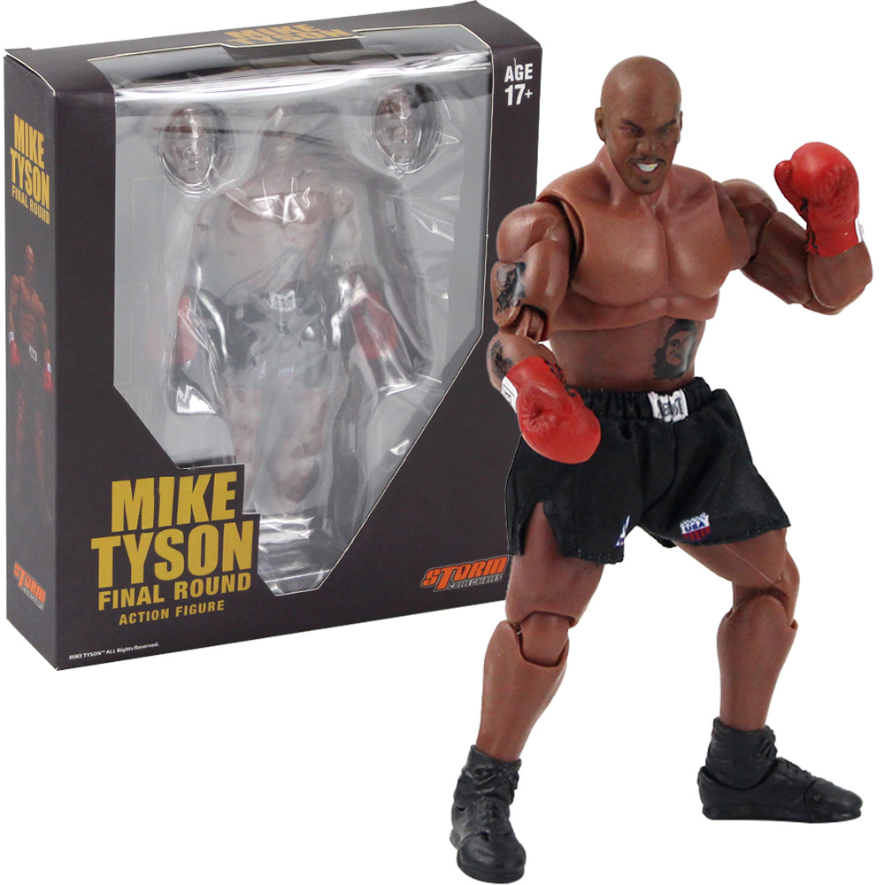 18cm Mike Tyson Final Round Action Figure Toys Movable Statue PVC Collection Model Doll image