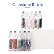 10 шт драгоценный камень эфирное масло бутылки хранения многоразовый