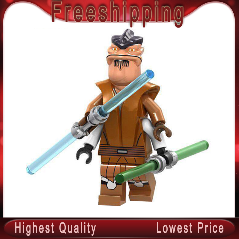 C034 Star War Legoed Figures Pong Krell Series Jedi Master Plastics Action Hera Standulla Building Blocks For Kids Toys Gift
