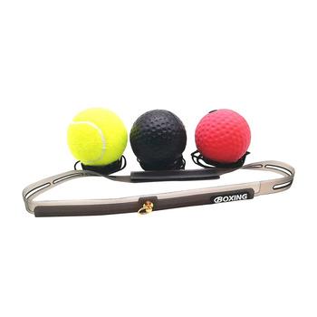 Sprzęt bokserski sprzęt bokserski walka piłka refleks poprawa reakcji prędkości i koordynacja oka ręcznego trening piłki Fitness narzędzia tanie i dobre opinie CN (pochodzenie) Tennis