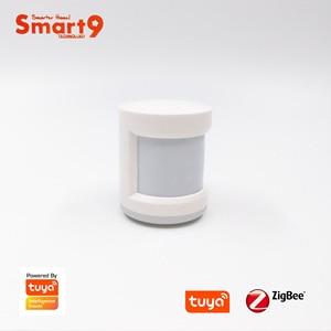 Image 3 - Smart9 ZigBee PIR センサーモーション検出器での作業チュウヤ ZigBee ハブ、人体運動検出、搭載チュウヤ