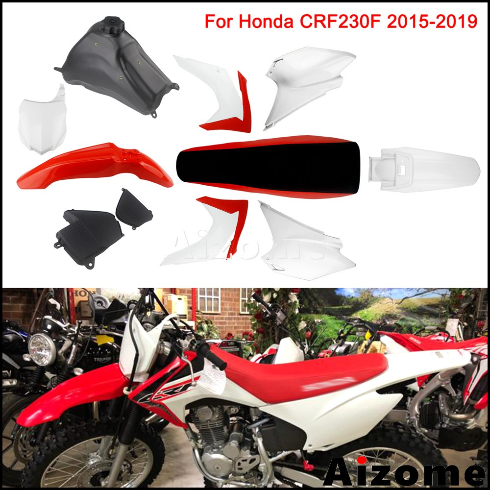 Motorcycle Gas Fuel Tank For Honda CRF230F 2015 2016 2017 Motocross