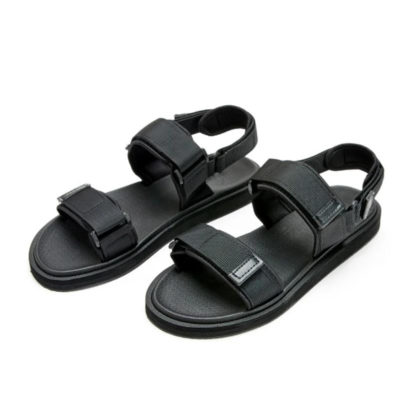 Zapatos De Verano A La Moda 2020 Sandalias De Verano Para Hombre Con Punta Abierta Zapatos Comodos Negros Para Hombre Tallas Grandes Eu38 46 Us6 12 Sandalias De Hombre Aliexpress