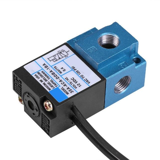 Électrovanne électrique en acier moulé | Électrovanne électronique de contrôle de Boost DC12V électrovanne électrique de haute qualité