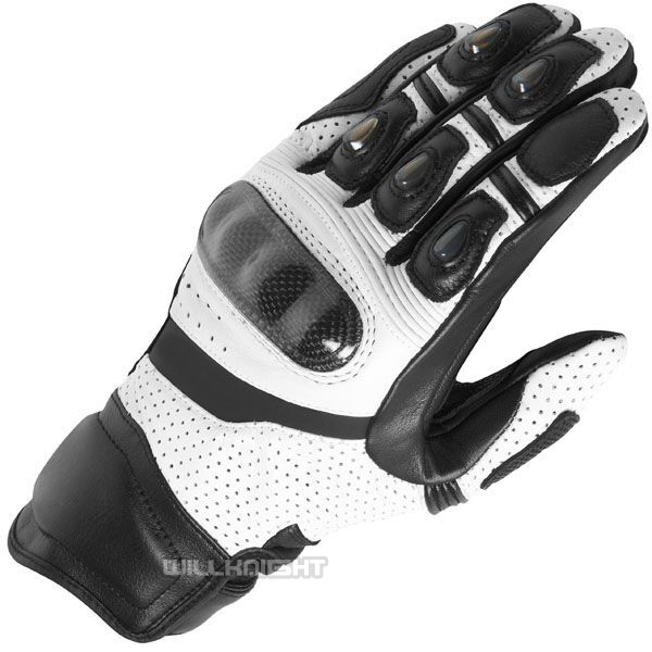 Leather Gloves Motorcycle Motocross Off-road ATV MX MTB Cycling Riding Gloves