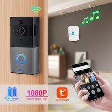KERUI Tuya Smart Lifeไร้สายWIFI Video Intercom Doorbell 2MP 1080Pโทรศัพท์ประตูBell Night Visionกล้อง