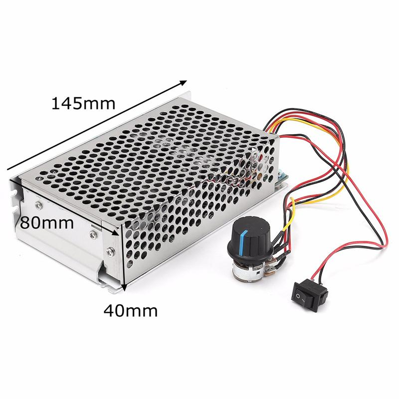 10-30V 100A 3000W Programable Reversible DC Motor PWM Control Speed Controller