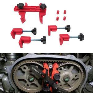 Image 1 - 5 Pcs Universal Cam Camshaft Lock Holder Car Engine Cam Timing Locking Tool Set Retainer Timing Belt Fix Changer