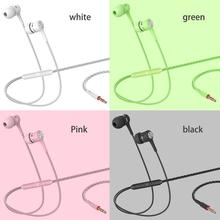 Sport Earphone wholesale Wired Super Bass 3.5mm Crack Colorful Headset Earbud with Microphone Hands Free for Samsung
