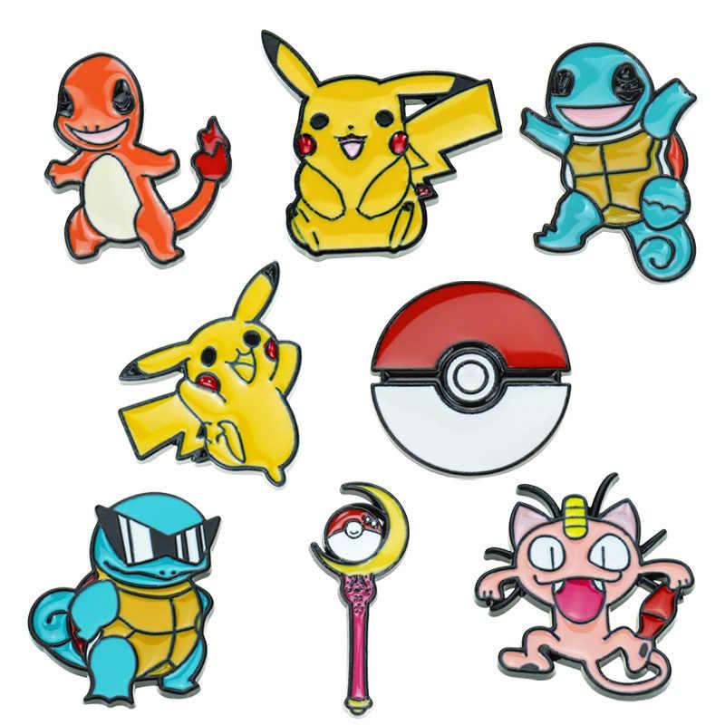Siêu Quái Vật Pikachu Pokemon Go Pokeball Thổ Cẩm Và Men Răng Pin