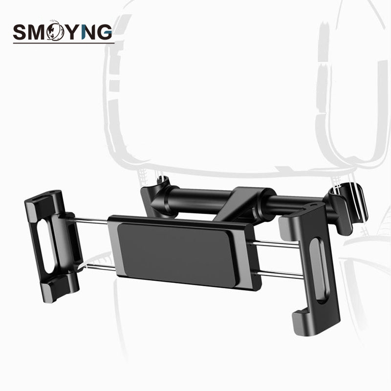 SMOYNG Back Seat Headrest Tablet Phone Car Holder Adjustable For iPone iPad Air Mini 2 3 4 Pro 12.9 Support car Mount Stand