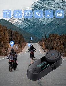 FreedConn 800 м TCOM-SC мотоциклетные шлемы Bluetooth беспроводная гарнитура для домофона наушники с экраном + fm-радио