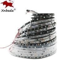 Tira de píxeles Led direccionable DC12V WS2811 5050 RGB, cinta de luz Led de colores completos, cinta Led Digital Flexible, 1 Control Ic 3