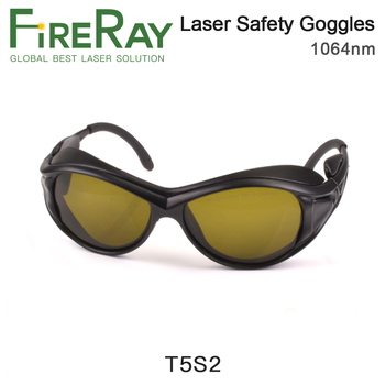 FireRay 1064nm Laser Safety Goggle Protective Glasses Shield Protection Eyewear CE Protective Goggles For YAG Fiber Laser new safurance laser goggles safety glasses protective eyewear pc with adjustable legs workplace safety