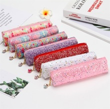 2020 New style Kawaii pencil case students gift school pencil box shiny pen case colorful pencil bag school stationery supplies 1 pc laser colorful love pencil case kawaii pencil bags cute pencil pouch korea pen case stationery gift school supplies
