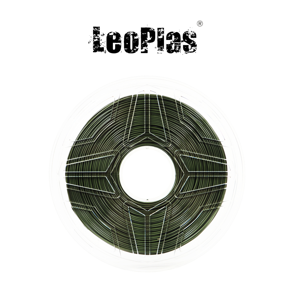 Liquidation vente aux etats-unis espagne entrepôt 1.75mm 1kg armée militaire vert PETG Filament 3D imprimante stylo fournitures matériel d'impression