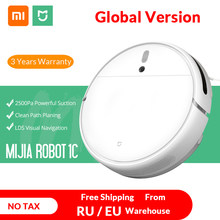 Global Version XIAOMI MIJIA Sweeping Mopping Robot Vacuum Cleaner 1C for Home Auto Dust Sterilize 2500PA Cyclone Suction Smart