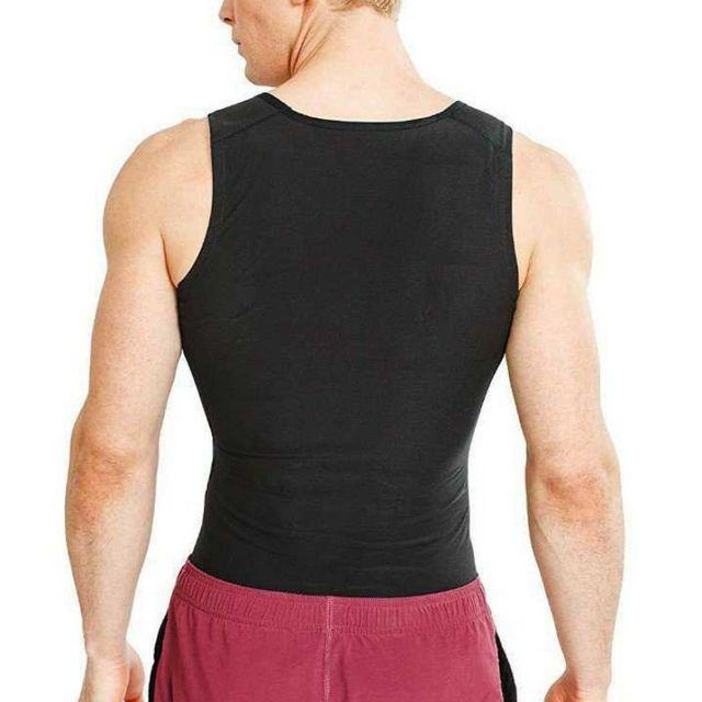 Unisex Sweat Body Suit Sweat Belt Shaper Waist Trimmer Sauna Vest Waist Trainer Corset Tank Top Shapewear Slimming Underbust 2