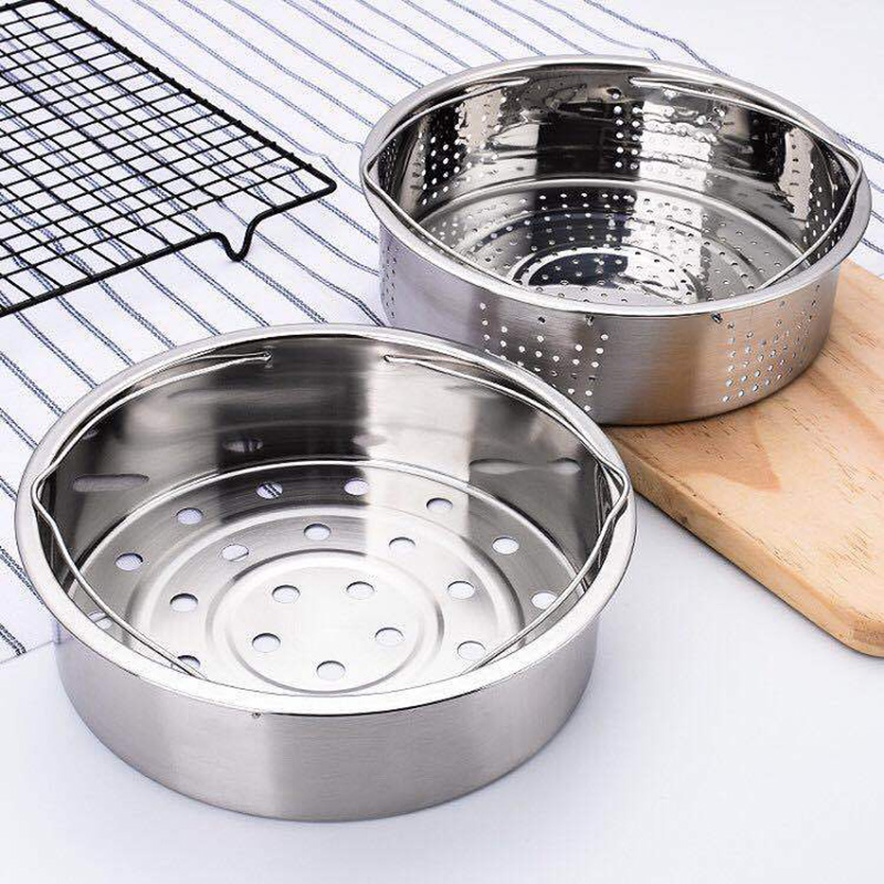Stainless Steel Pot Steamer Basket Egg Steamer Rack Divider For Pressure Cooker Pot HVR88