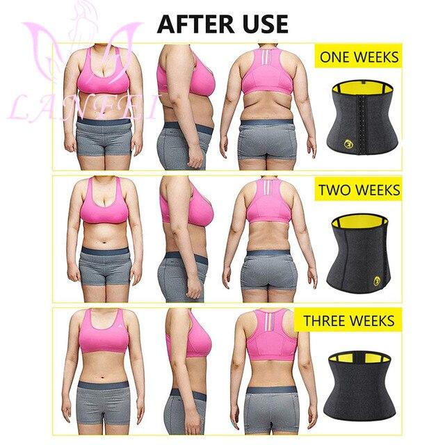 LANFEI S-6XL Body Shaper Corset Waist Trainer Slimming Belt for Women Neoprene Weight Loss Sweat Gym Fitness Modeling Underwear 2