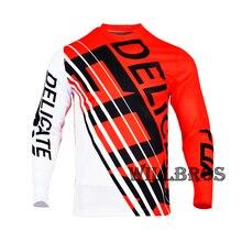 Long-Sleeve T-Shirt Motocross-Jersey Motorbike Delicate Fox Offroad Summer Men 360-Intake
