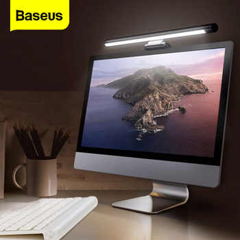Baseus Screenbar lampa biurkowa LED komputer stancjonarny ekran laptopa Bar lampa wisząca lampa stołowa biuro studium lampka do czytania do monitora LCD
