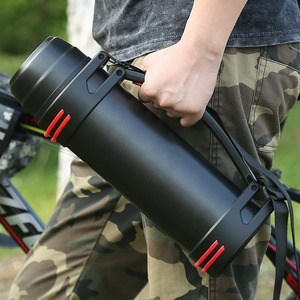 Image 3 - 2/3L Outdoor Sports Thermos Water Bottle Large Capacity Stainless Steel Vacuum Flask Portable Travel Home Outdoor Car Thermos