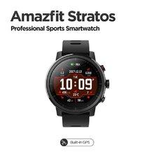 Amazfit Stratos-Smartwatch Firmware Global Original, con 80 modos deportivos, TWS, Monitor de ritmo cardíaco, resistente al agua