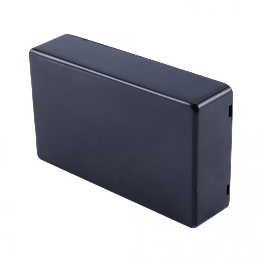 Пластиковый водонепроницаемый чехол, корпус для электронного инструмента, DIY чехол, распределительная коробка, корпус 100x60x25 мм, черный