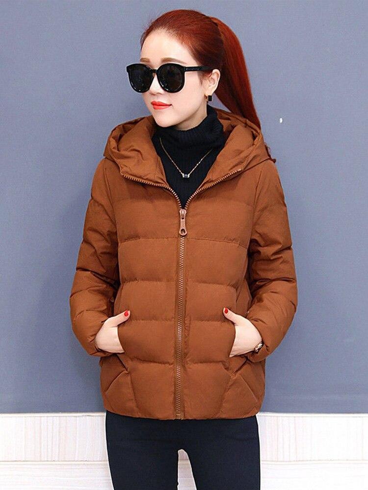 Plus size women winter jacket cotton loose short parkas women outwear designer warm hooded female coat jaqueta feminina DR1192 (13)