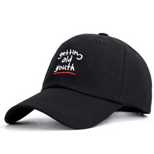 The new spring 2019 letters embroidery baseball Japanese harajuku personality cap children soft top male youth