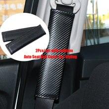 2 шт Авто ремня автокресла высокого качества из углеродного