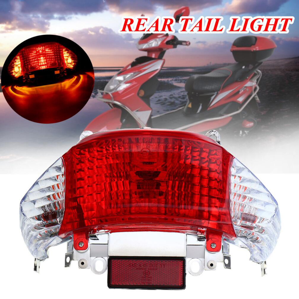 Rear Tail Light For 49cc - 50cc GY6 Engine Chinese SCOOTER Sunny / Tao Tao