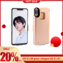Battery-Charger-Cases Charging-Treasure Back-Clip Mobile-Phone Redmi XNCORN for Note7