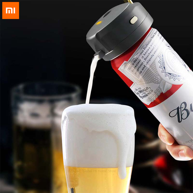 Xiaomi Youpin STARCOMPASS Portable beer foam machine Special Purpose for Bottled Beer and Canned Beer