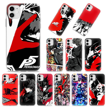 Persona 5 Joker Soft Cases for Apple iPhone