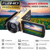 24 millionen Pixel Infrarot Nachtsicht HD Video Camcorder Handheld 1080P Digitale Camera16x Digital Zoom Camcorder DV Recorder