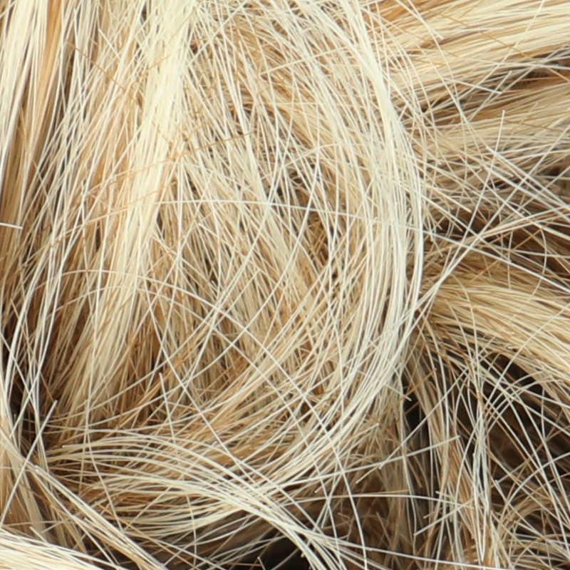 MERISIHAIR niñas rizadas Scrunchie Chignon con banda de goma marrón gris pelo sintético anillo envuelto en moño desordenado coletas