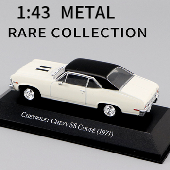 1:43  IXO CHEVROLET CHEVY SS COUPE (1971) diecast car model collection toys   perfect size and  weight 1