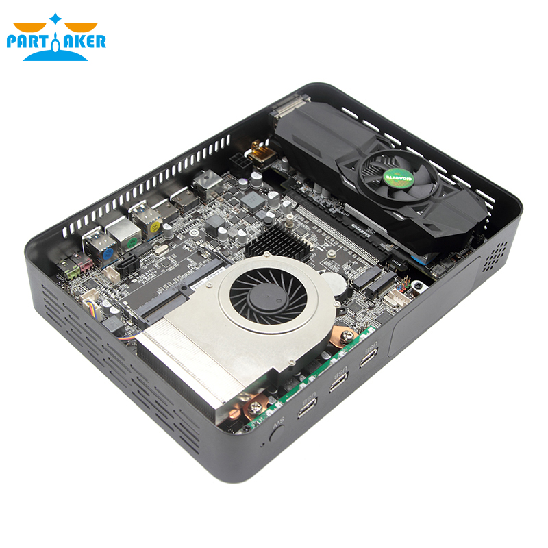 Image 4 - Computador de jogos do participante intel i7 6 núcleos 12 threads i7 8700 nvidia gtx 1050ti 4 gb mini pc 2 * ddr4 2 * hdmi 2.0 1 * dp 1 * dvi wifiMini-PC   -