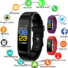Health Bracelet Heart Rate Blood Pressure Smart Band Fitness Tracker Smartband Wristband for honor Band 3 fit bit Smart Watch