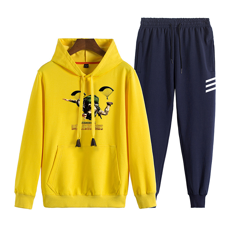 Main Push 2019 Autumn New Style Men's Hoodie Casual Sports Teenager Students Tide Set Control 128 P85